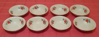 Juego 8 cuencos de cerámica