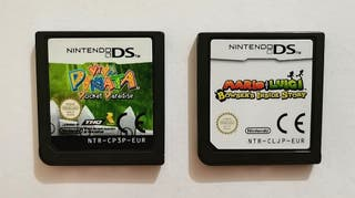 Pack de 2 videojuegos para nintendo DS