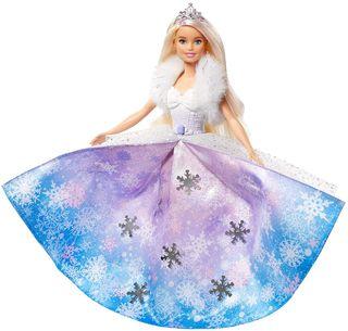 Barbie Muñeca Princesa de la nieve.