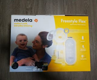 Medela Sacaleches Doble Freestyle Flex NUEVO