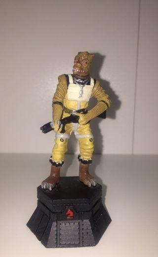 Figura Bossk Star Wars Plomo