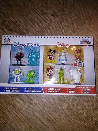 Pack muñecos metálicos Disney nuevo precintado