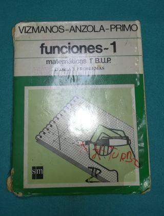 Libro Funciones 1 Matemáticas 1° BUP
