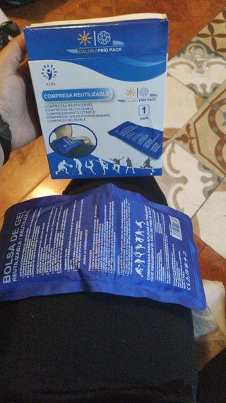 compresa/bolsa para calor y frio para dolores