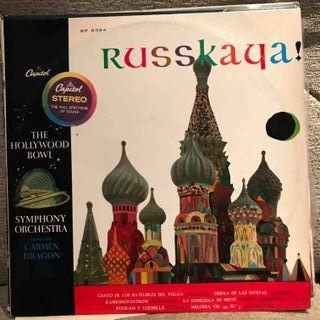 Russkaya - Carmen Dragon LP Vinilo