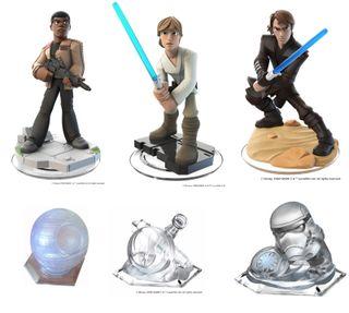 Set 6 figuras figure Disney Infinity 3.0 Star Wars