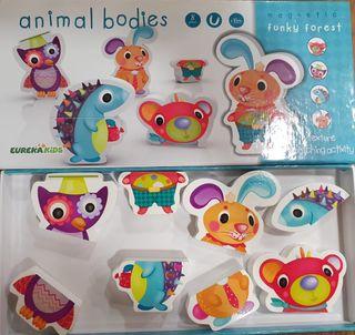 Puzzle inmantado Animalitos Eurekakids 18 meses