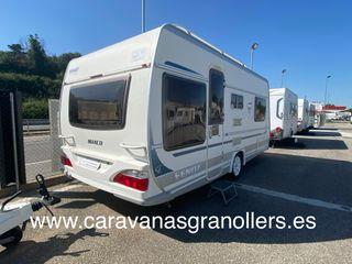 caravana fendt 465 con aire acondicionado