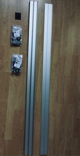 Kit para puertas correderas de armario