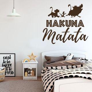 Vinilo Pegatina Hakuna Matata