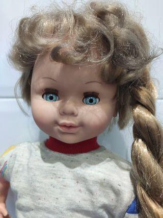 Muñeca Jesmar antigua años 80 90 crece pelo