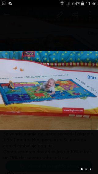 Manta sensorial gigante niños