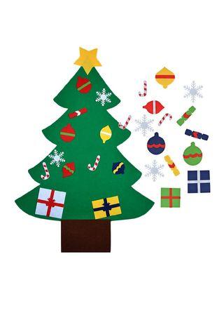 fieltro arbol de navidad