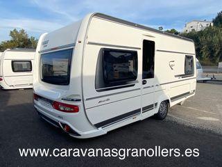caravana fendt bianco 465 aire-nevera grande