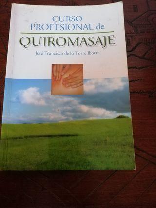 libro curso profesional de quiromasaje