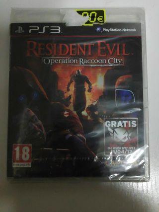 Resident Evil operacion Rancin city