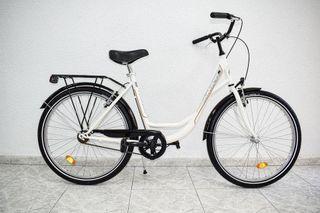 *NUEVA* AMAT Florida Bicicleta Paseo Urbana con Po