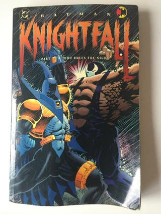 "Cómic Batman ""Knightfall"" Parte dos (Ingles)"