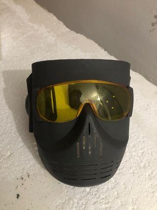 Máscara protección Airsoft paintball