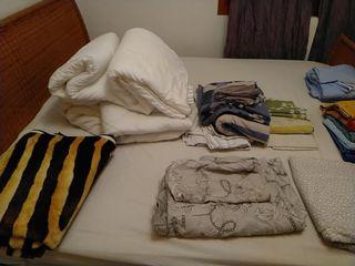lote ropa de cama de 90 y toallas