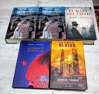 Novelas de fantasía y ciencia ficción