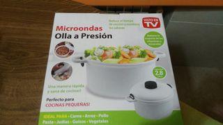 olla a presión microondas nuevas