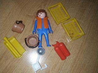 lote Playmobil antiguo