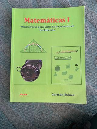 Matemáticas I. German Ibañez