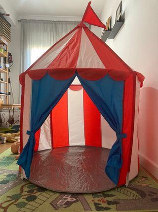 Cabaña Ikea Cirkustält