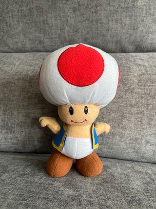 Peluche Toad Mario Bros