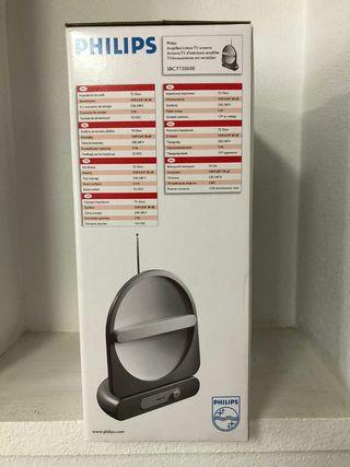 Antena tv Philips amplificador 38db