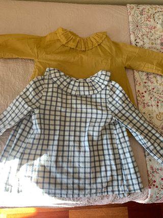 Pack blusas 5-6 años