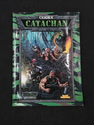 Codex Catachan Guardia Imperial Warhammer 40000