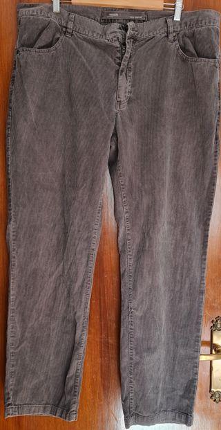 Pantalón de pana talla grande