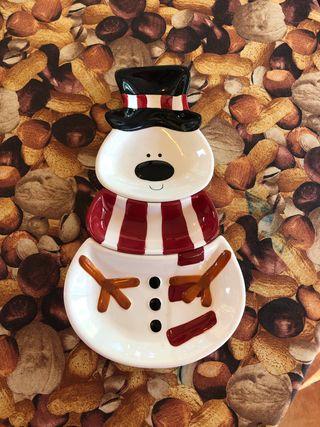 Cuencos para aperitivo de Navidad