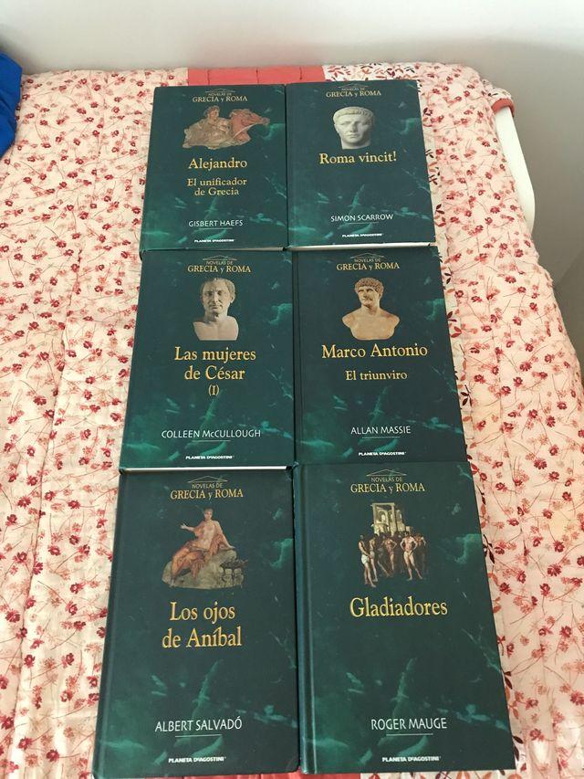 Novelas de Grecia y Roma