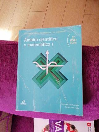 libro de 2 ESO Ámbito Científico Matematico