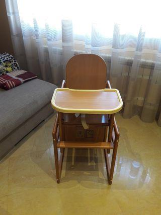 Trona Madera / Silla alta / Mesa de silla de Juego