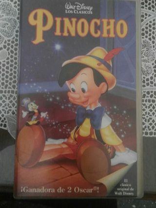 Pinocho VHS