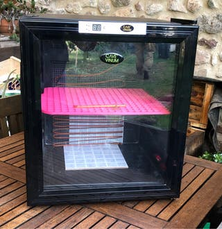 Incubadora para huevos de reptil
