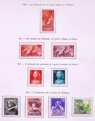Sello. España. Año completo Edifil 1961.MNH