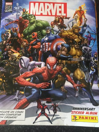 Vendo o cambio cromos Marvel anniversary