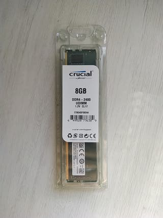 Memoria RAM Crucial DDR4 2400 8GB