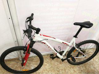Bicicleta Rockrider Five One 5.1 Blanca Roja