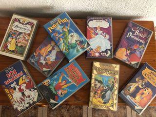 25 películas clásicas Disney VHS