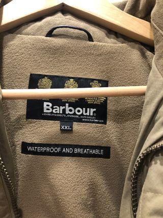 Chaqueta barbour xxl