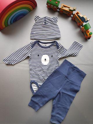 Conjunto bebé 1 a 3 meses