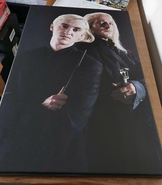 Draco Malfoy & Lucius Malfoy Brand new canvas