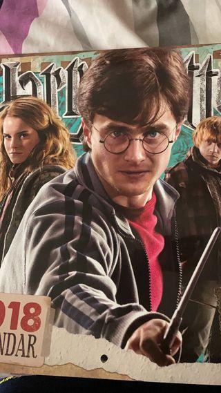 calendario Harry Potter 2018