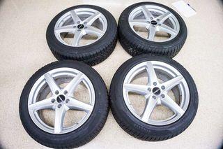 """4x Llantas Mercedes 18"""" + Neumáticos Invierno"""